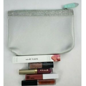 Lipstick & Lip Gloss Samples Lot with Ipsy Bag